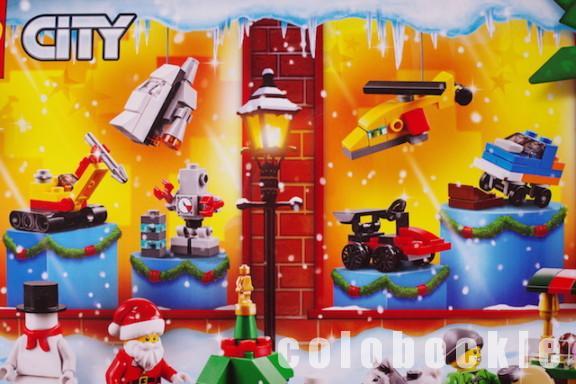 レゴシティLEGOアドベントカレンダークリスマス2018