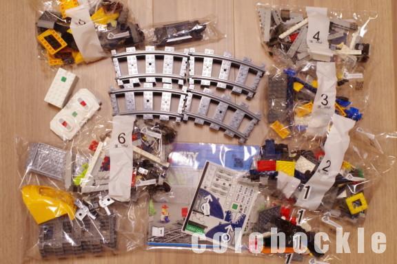 LEGOCityレゴシティハイスピードトレイン