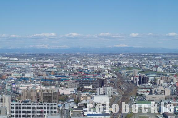 札幌駅JRタワー展望室T38夜景