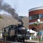 北海道三笠鉄道村三笠鉄道記念館トロッコ蒸気機関車SL