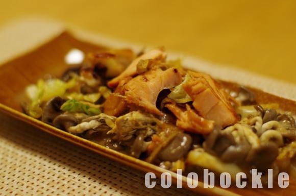 鮭のちゃんちゃん焼きさけ人気レシピフライパン